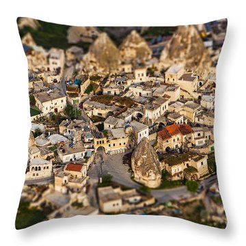 Bedrock Throw Pillow by Andrew Paranavitana