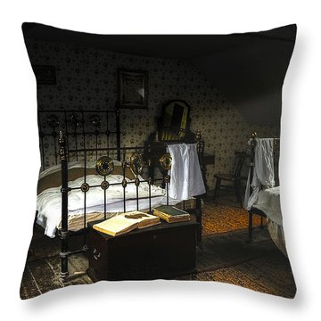 Bedroom Throw Pillow by Svetlana Sewell