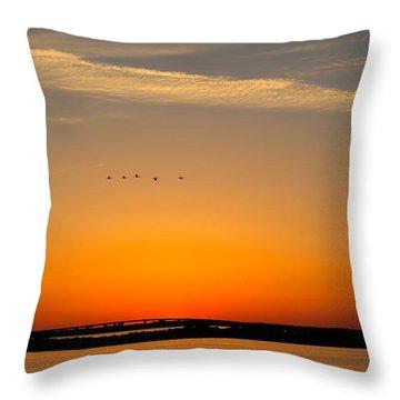 Bedtime Throw Pillow