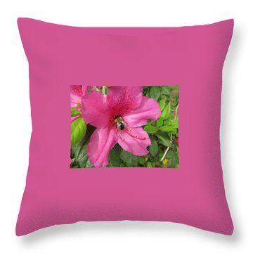Bee Cause Throw Pillow