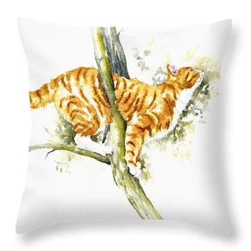 Bee High Throw Pillow