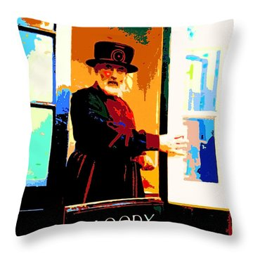 Beefeater Throw Pillow