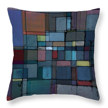 Before Dawn Throw Pillow by Karyn Lewis Bonfiglio