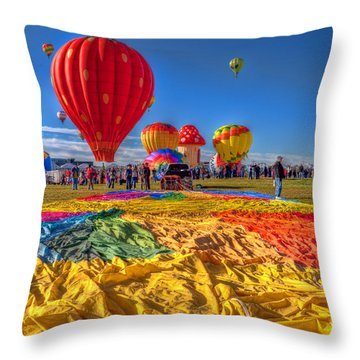 Before Inflation Throw Pillow