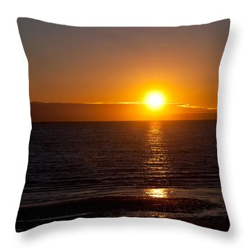 Throw Pillow featuring the photograph Before Night Falls  by Sabine Edrissi