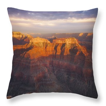 Before Sublime Colors Throw Pillow by Peter Coskun