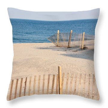 Before Summer Vacation Throw Pillow by Ann Murphy