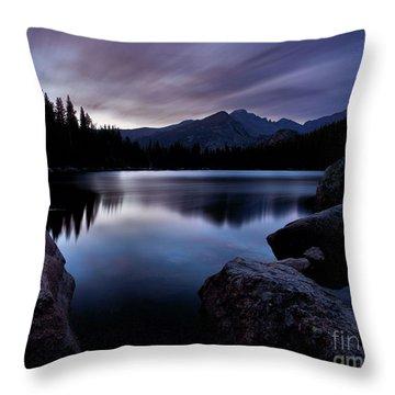 Before Sunrise Throw Pillow