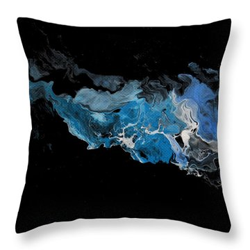 Before The Beginning Throw Pillow by Linda Bailey