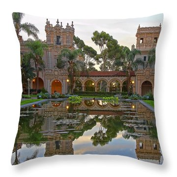 Throw Pillow featuring the photograph Before The Crowds by Gary Holmes