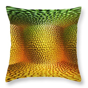 Begining Throw Pillow by Mo T