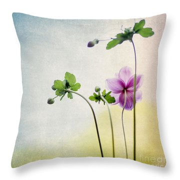 Behind My Back Throw Pillow