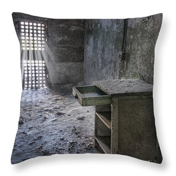 Behind The Bars Throw Pillow