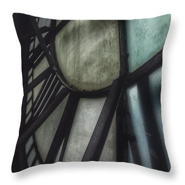 Behind The Clock - Emerson Bromo-seltzer Tower Throw Pillow