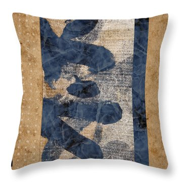 Behind The Screen Throw Pillow