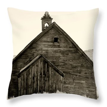 Behind The Steeple By Diana Sainz Throw Pillow