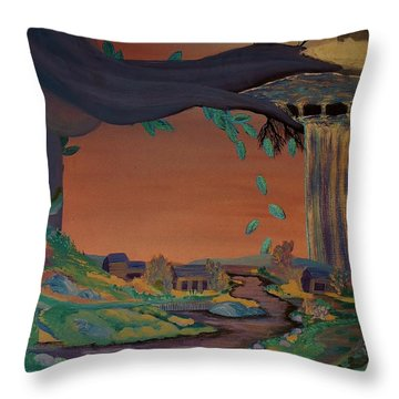 Behold The Seed Throw Pillow by Barbara St Jean