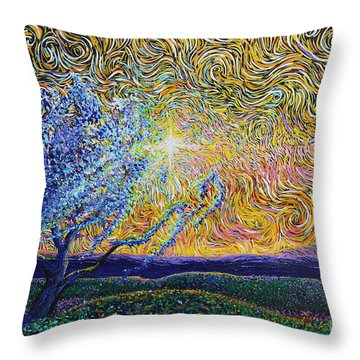 Beholding The Dream Throw Pillow