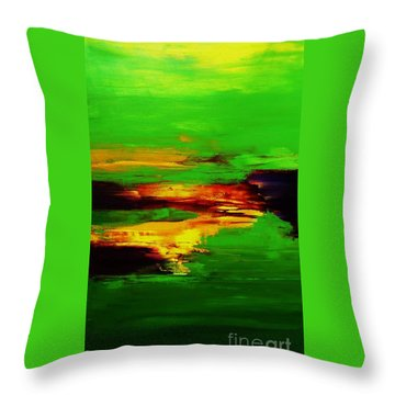 Being And Becoming Throw Pillow