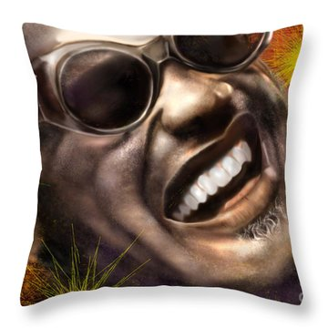 Being Ray Charles1 Throw Pillow