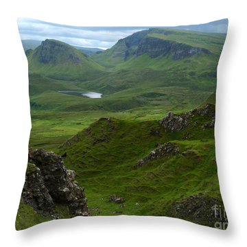 Beinn Edra - Isle Of Skye Throw Pillow