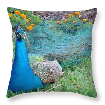 Throw Pillow featuring the photograph Bejeweled  by David Nicholls
