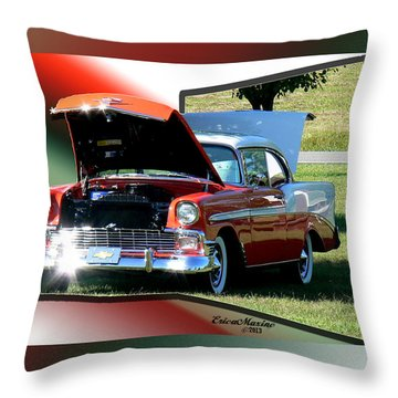 Bel Air 1950s-featured In Manufactured Items Group Throw Pillow