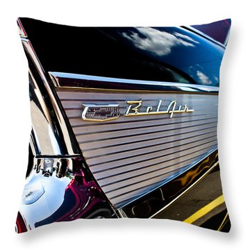 Throw Pillow featuring the photograph Bel Air Reflections by Joann Copeland-Paul