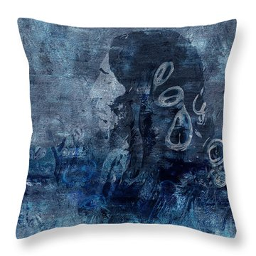 Belief Throw Pillow by Jack Zulli