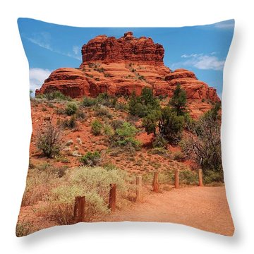 Bell Rock - Sedona Throw Pillow