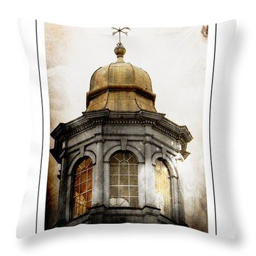 Bell Tower Throw Pillow