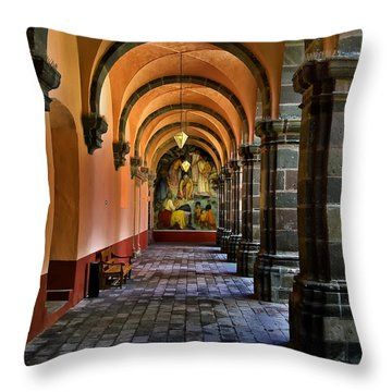 Bella Artes Throw Pillow