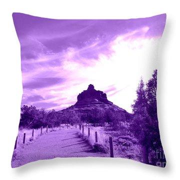 Bella Bell Rock Vortex Throw Pillow