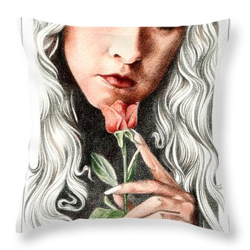 Bella Donna Throw Pillow