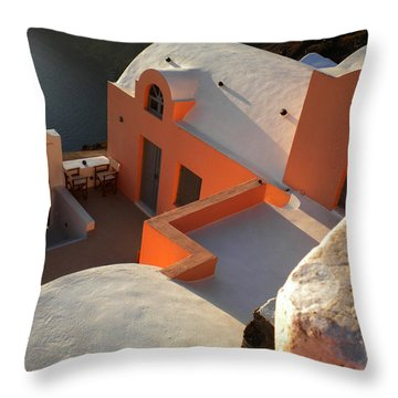 Bella Santorini Hause Throw Pillow