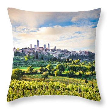 Bella Toscana Throw Pillow