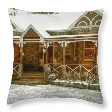 Bella Vista Throw Pillow by Elaine Teague