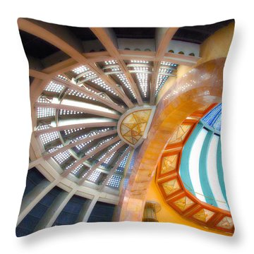 Bellas Artes Interior II Throw Pillow