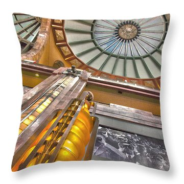 Bellas Artes Interior Throw Pillow