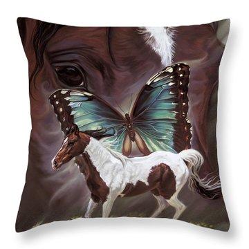 Bella's Song Throw Pillow