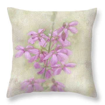 Throw Pillow featuring the photograph Belle by Elaine Teague