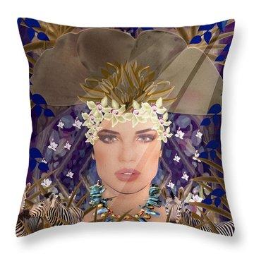 Belleza Terrosa  Throw Pillow