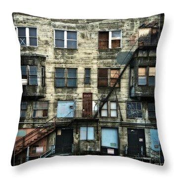 Bellingham Architecture Throw Pillow