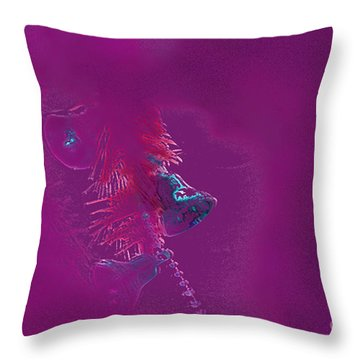 Bells Throw Pillow by Carol Lynch