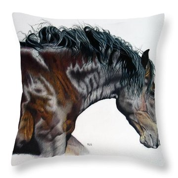 Bellus Equus Throw Pillow