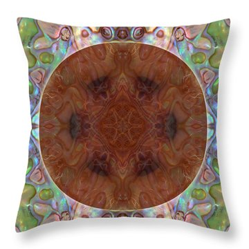 Belly Button Throw Pillow