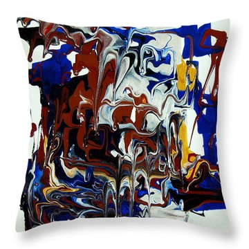 Belly Laughing Throw Pillow