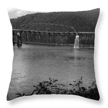 Belmar Bridge  Throw Pillow