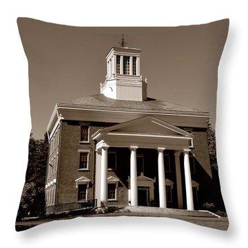 Beloit College Throw Pillow by Deena Stoddard