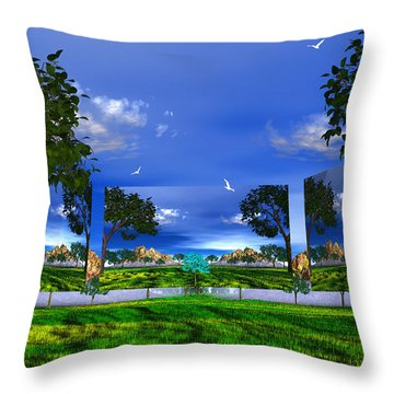Throw Pillow featuring the photograph Belonging by Mark Blauhoefer